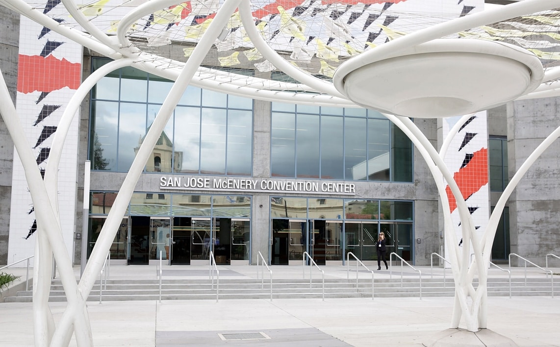 McEnery Convention Center em San Jose (Califórnia)