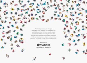 Arte conceitual da WWDC 2017