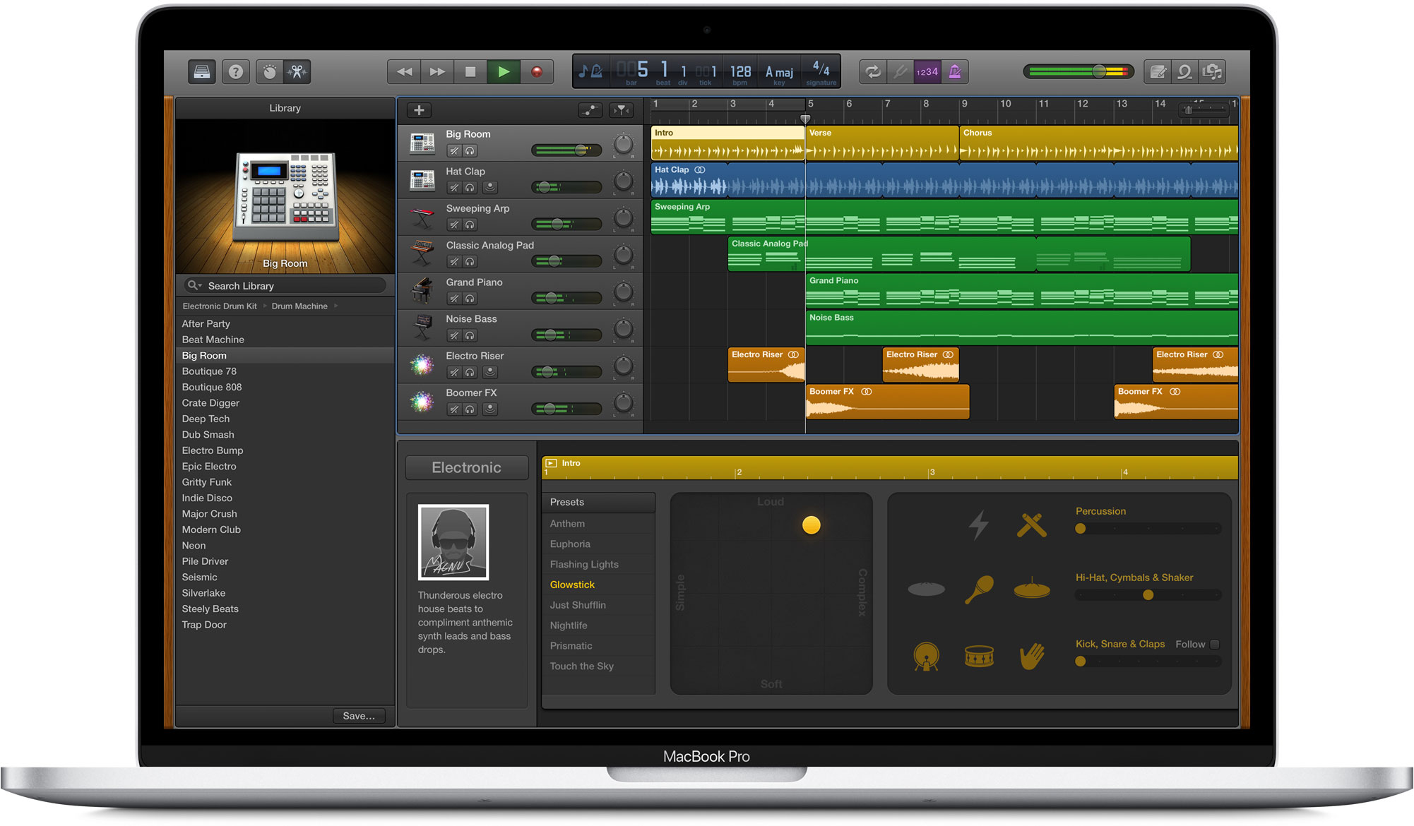 GarageBand para macOS