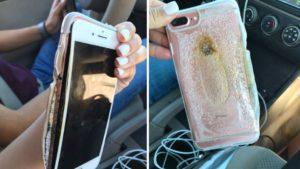 iPhone 7 Plus pegando fogo