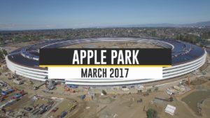Vídeo de março do Apple Park