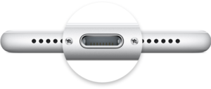 Conector Lightning do iPhone 7