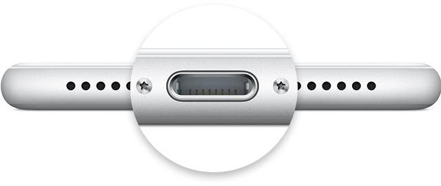 Conector Lightning do iPhone 7