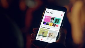 Comercial do Apple Music