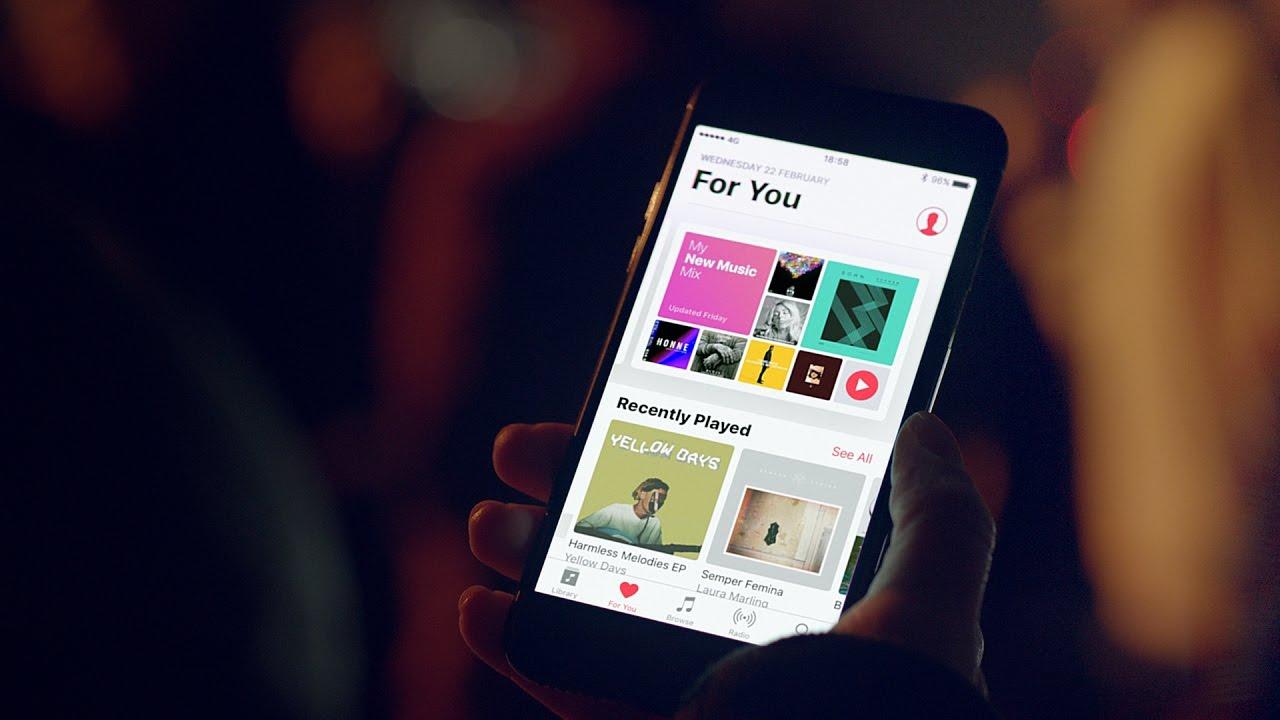 Comercial do Apple Music