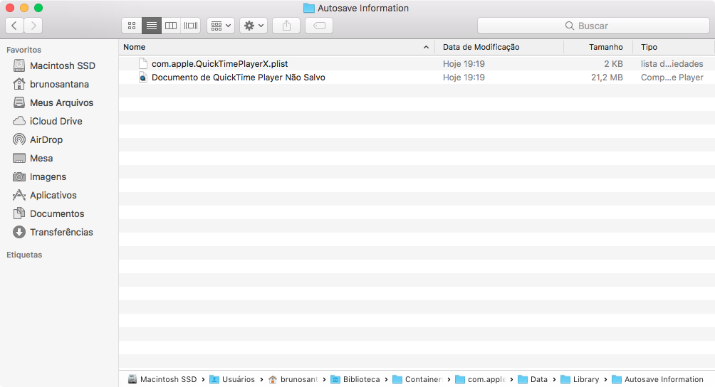 Como recuperar arquivos perdidos no QuickTime