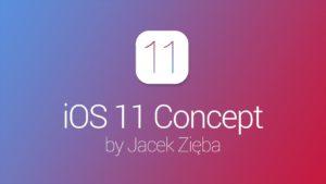 Conceito para o iOS 11