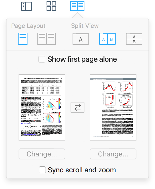 Layouts no PDF Expert 2.2