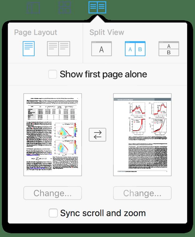 Layouts no PDF Expert 2.2