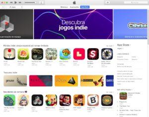 App Store Jogos Indie
