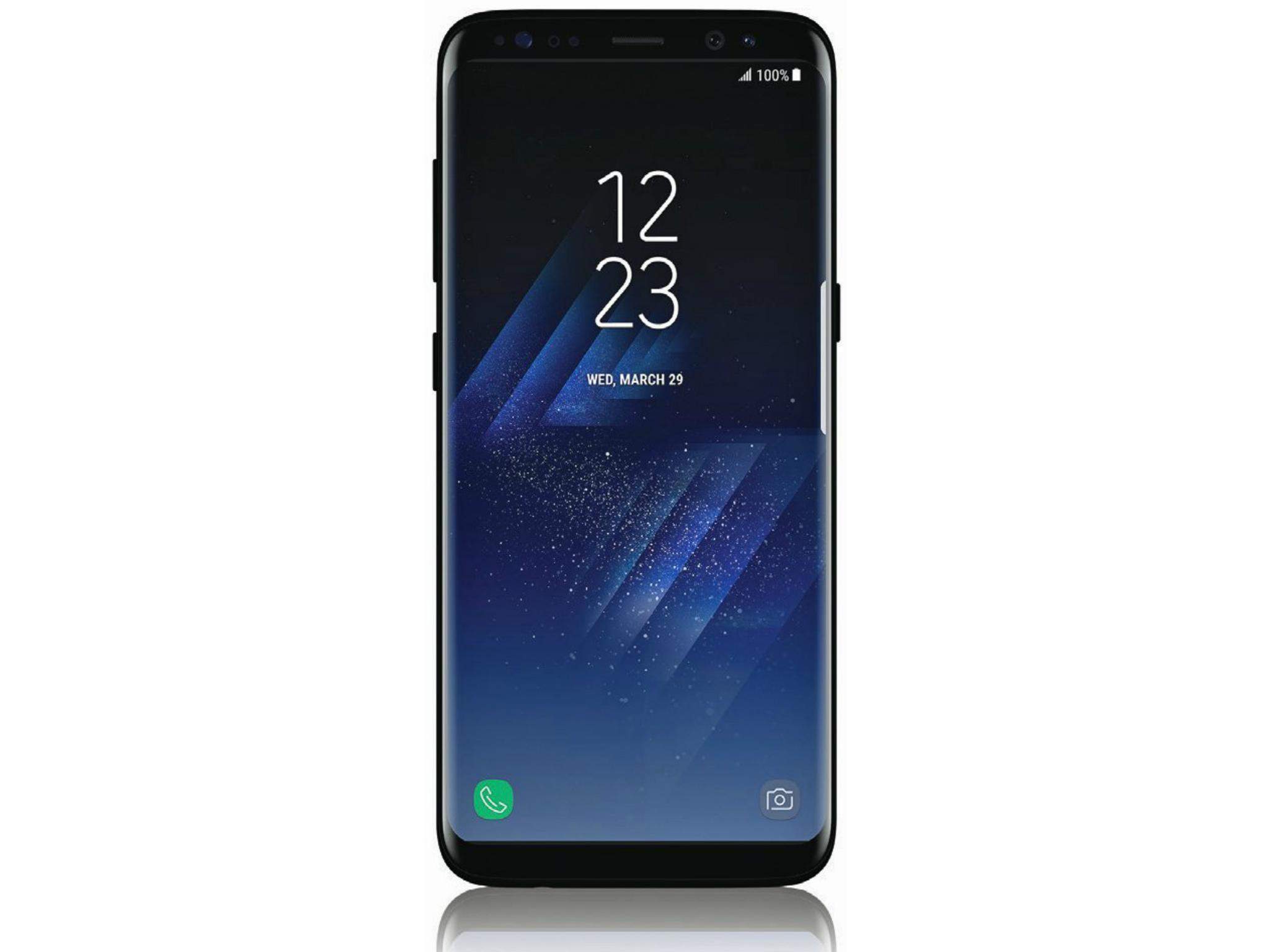 Imagem vazada do Samsung Galaxy S8