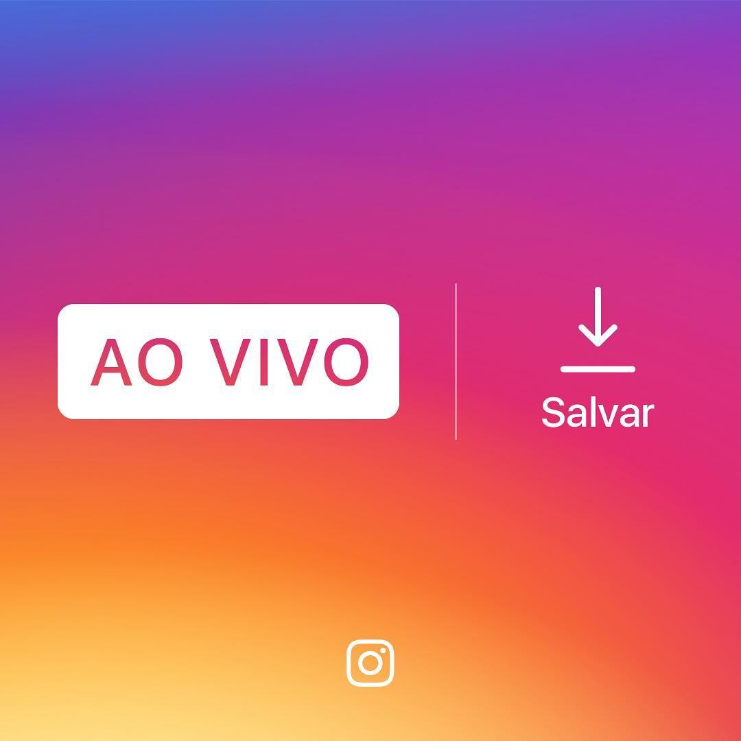 """Imagem de divulgação do recurso de salvar um vídeo """"Ao Vivo"""" no Rolo da Câmera"""