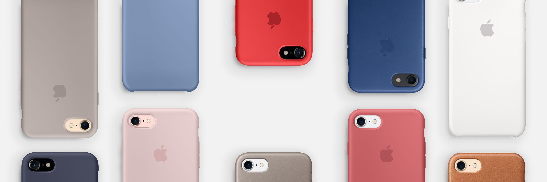Novas cores de cases da Apple