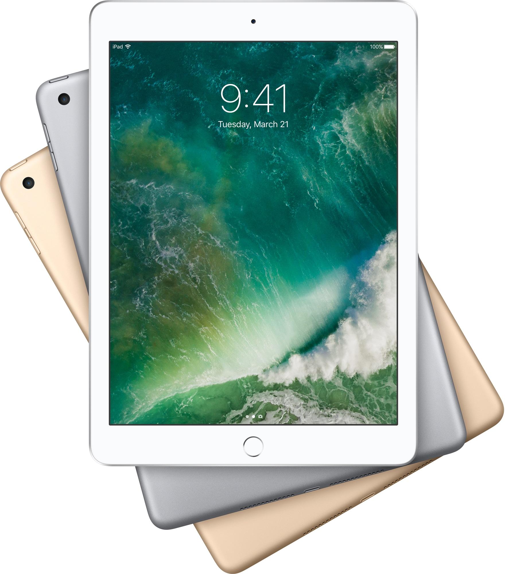 iPads de 9,7 polegadas em espiral