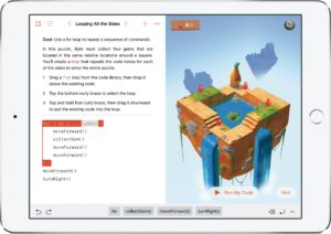 Swift Playgrounds no iPad