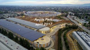 Novo vídeo das obras do Apple Park