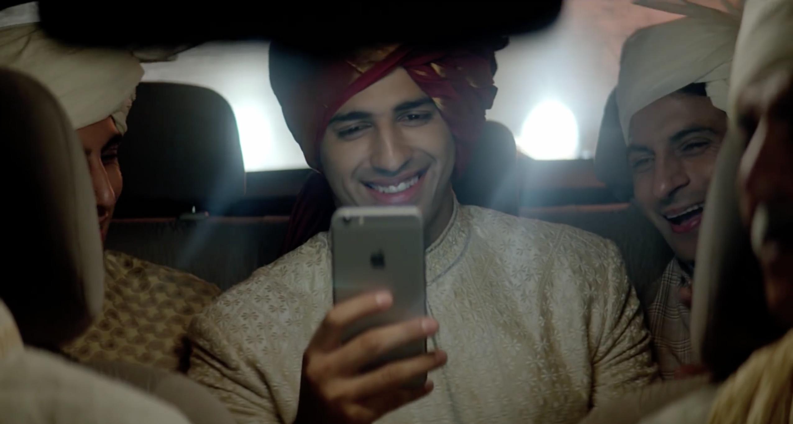 Comercial do iPhone 6 na Índia