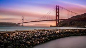 Ponte Golden Gate, em San Francisco (por Everaldo Coelho)