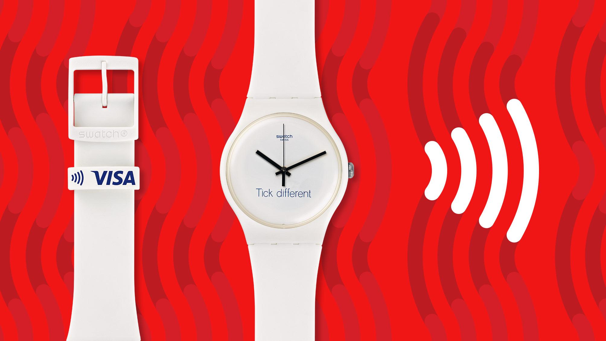 Relógio Bellamy, da Swatch