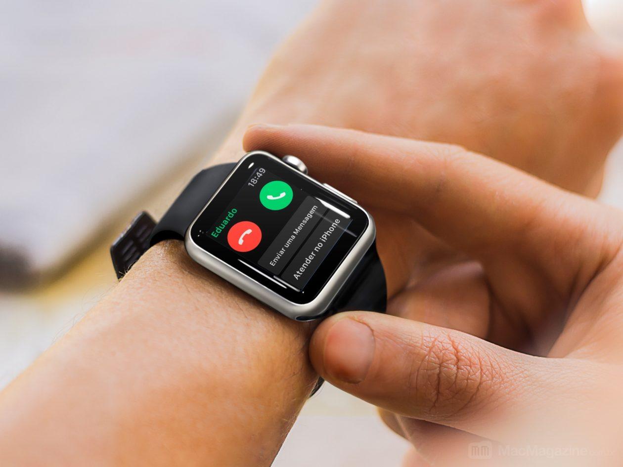 Você sabia que pode atender uma ligação no iPhone pelo Apple Watch?