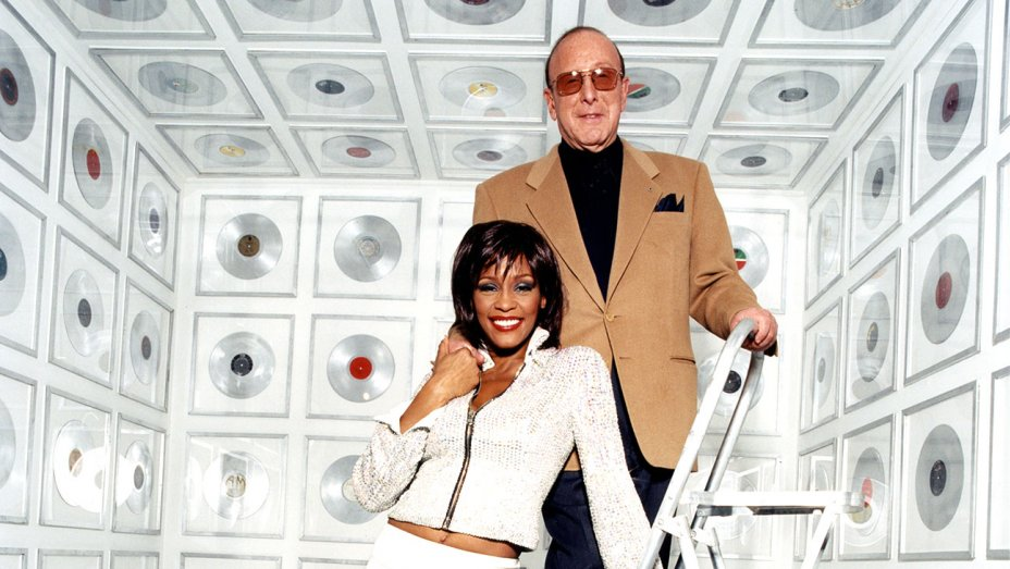 Clive Davis e Whitney Houston