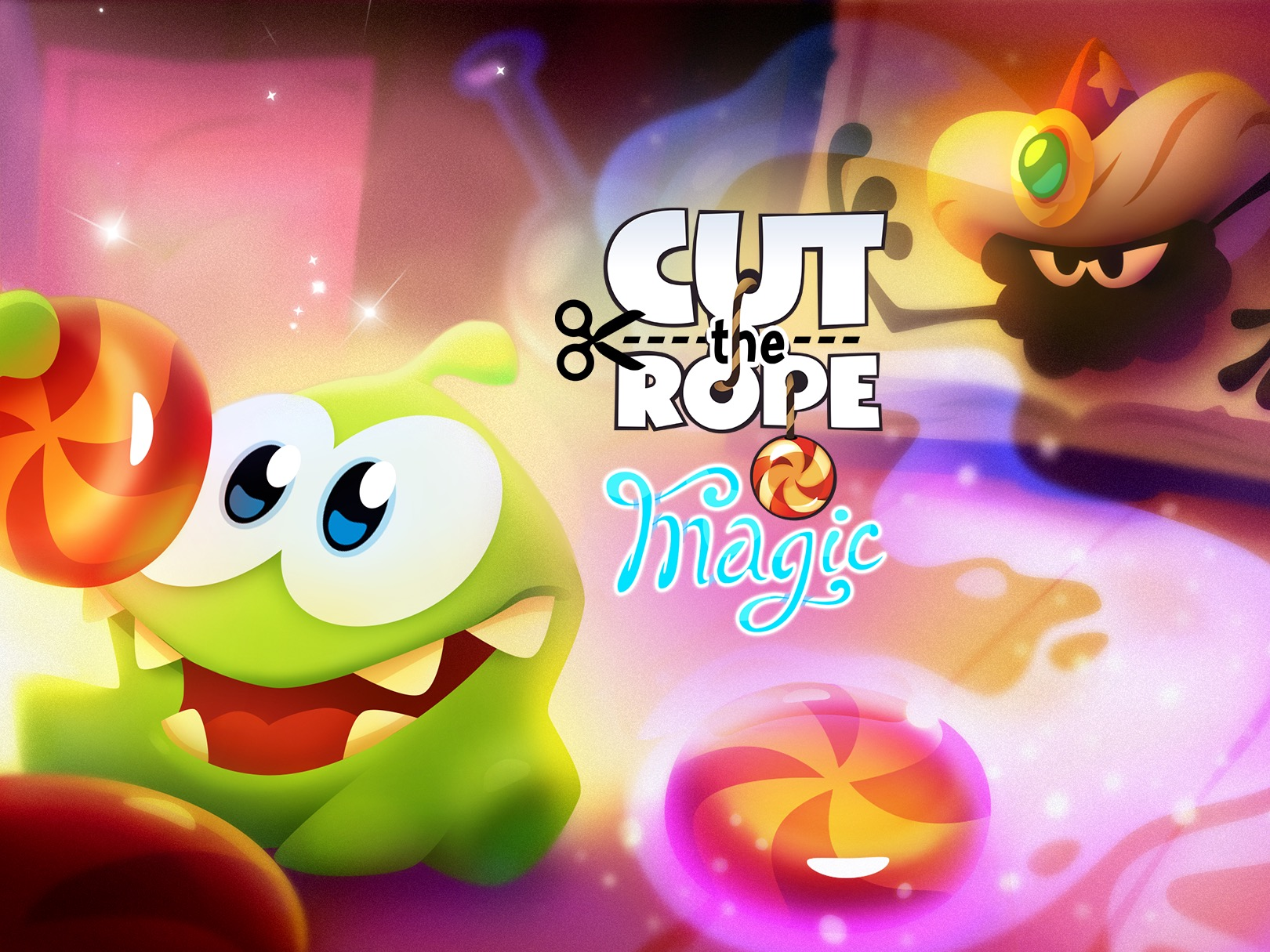 Jogo Cut the Rope: Magic para iOS