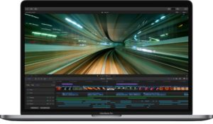Final Cut Pro X no MacBook Pro com Touch Bar