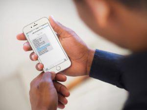 Golpe via SMS do iCloud