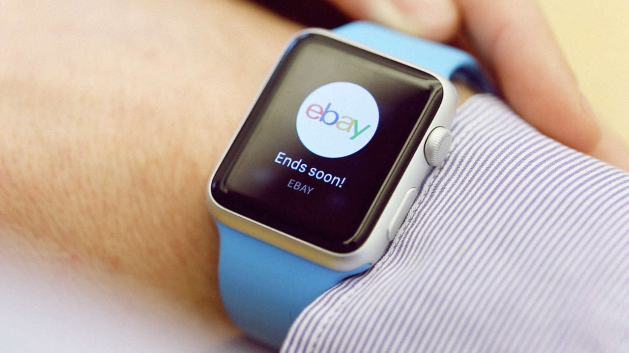 App do eBay no Apple Watch