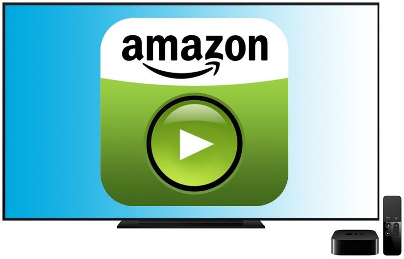 Ilustração do Amazon Prime Video na Apple TV