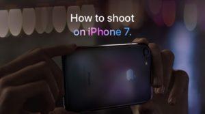"""Campanha """"Como tirar uma foto no iPhone 7"""""""
