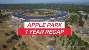 Apple Park 1 ano retrospectiva