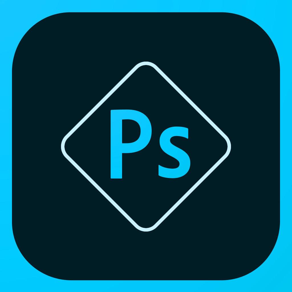 Ícone do app Adobe Photoshop Express para iOS