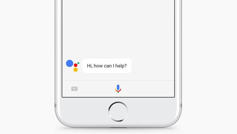 Assistente Google no iOS