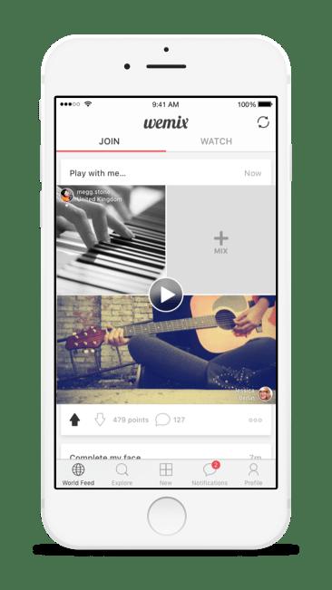 Imagem oficial do app Wemix