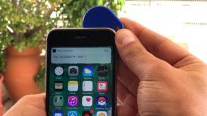 NFC desbloqueado num iPhone