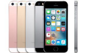 iPhones SE com borda branca para o destaque Standard