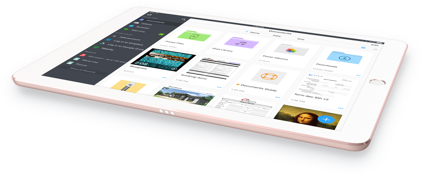 Readdle Documents 6 no iPad