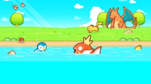 Jogo Pokémon: Magikarp Jump para iOS