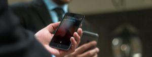 Tentando desativar dados celulares no iPhone
