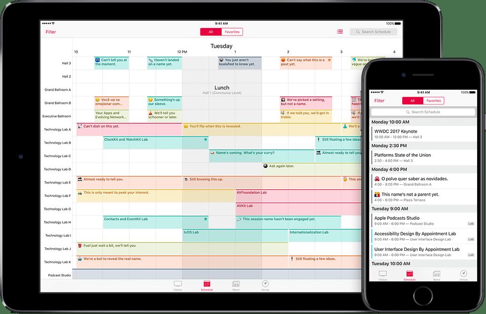 WWDC 2017 no iPad e iPhone