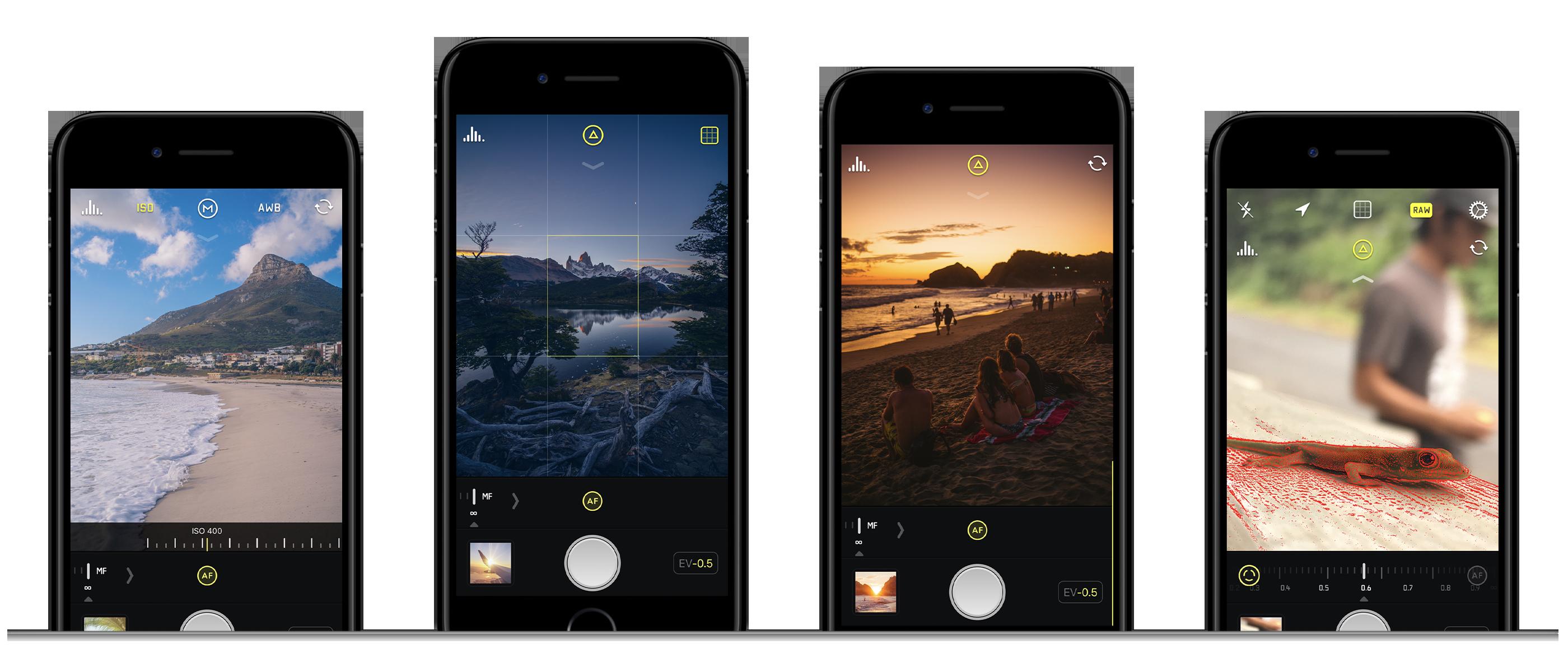 App de câmera para iPhone Halide