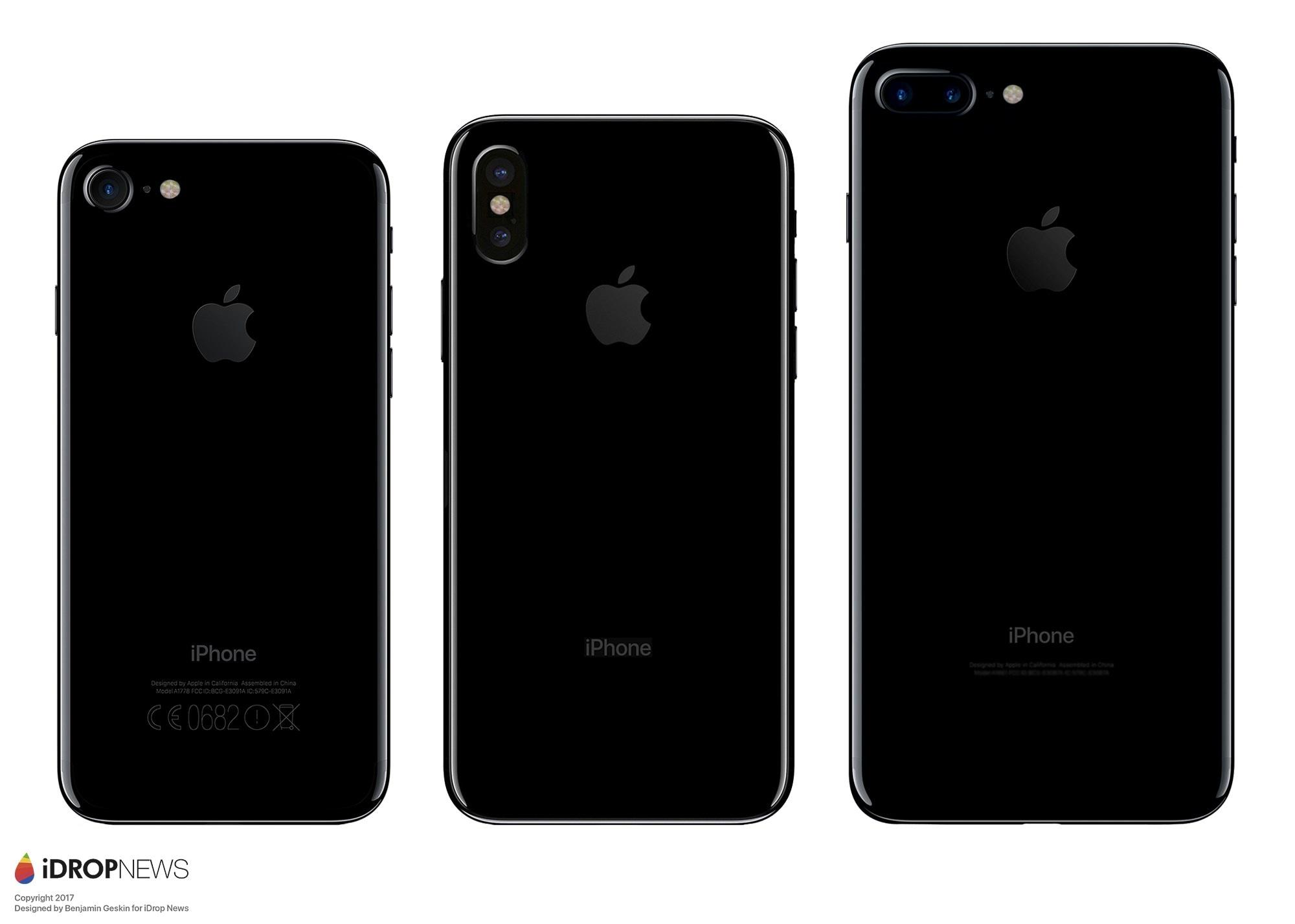 "Mockup do ""iPhone 8"", por iDrop News"