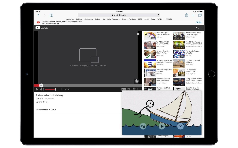 Aplicativo PiPifier para iPad