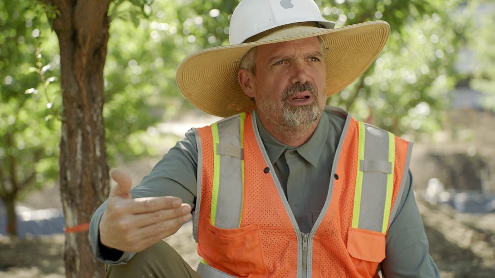 David Muffly, chefão das árvores do Apple Park