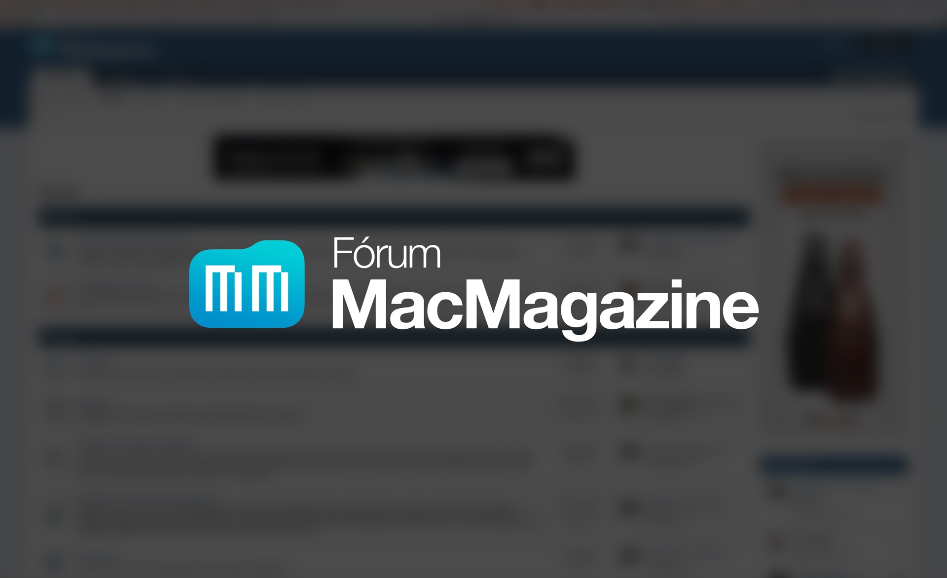 Fórum MacMagazine