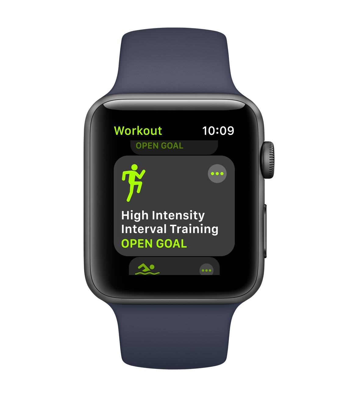 App Exercícios no watchOS 4