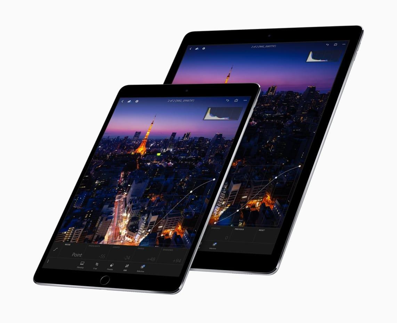 Família dos iPads Pro