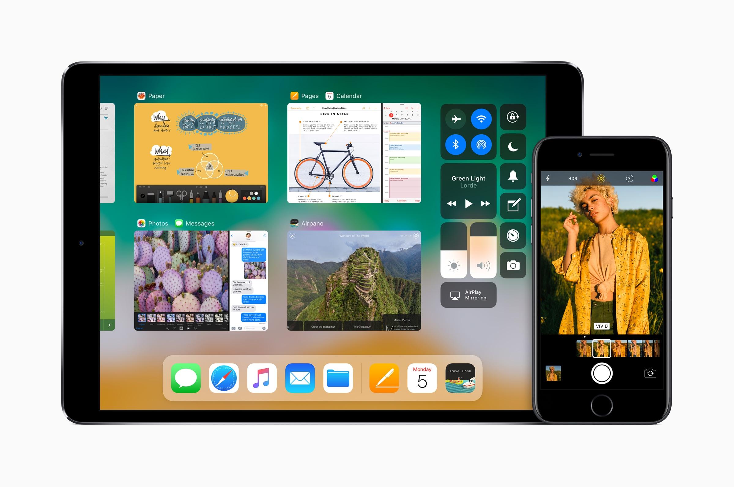 iOS 11 no iPad e no iPhone