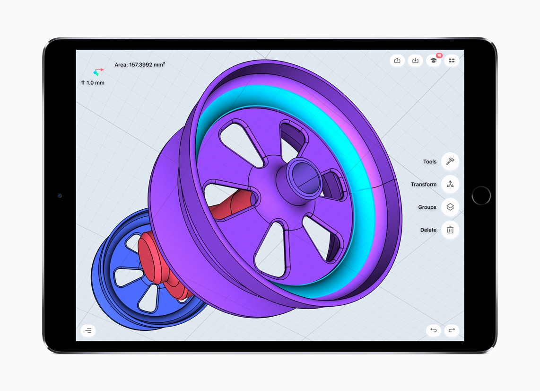 iPad Pro com o chip A10X Fusion